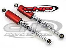 Shock for the HONDA CT70, Candy Ruby Red cap