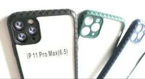 iPhone 11 Pro Max Luxury Thin Case Shockproof Camera Protection Coloured Bumber