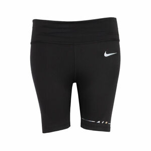 Nike Women's One Iridescent Tight Fit Biker Shorts Black CZ9023-010 AUTHENTIC