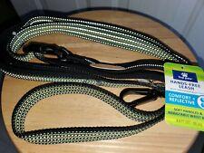 Top Paw 4-6 Foot Dog Leash Hands Free Reflective Adjustable Waist Belt New black