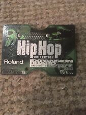 Roland SR-JV80-12 HIP HOP Collection Expansion Board JV-1080 JV-2080 XV-5080 etc