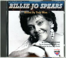 """BILLIE JO SPEARS CD:  """"Stand By Your Man""""  1993  Charly  Mint"""