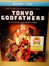 Tokyo Godfathers (Blu-ray + DVD, 2020) With SLIPCOVER Brand New Sealed Free Ship