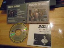 RARE OOP JAPAN Jackson Browne CD Pretender DAVID CROSBY Graham Nash DON HENLEY !