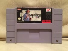 Madden NFL 97 - Nintendo Super NES American SNES NTSC Game - Tested Cart Only