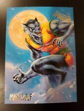 1995 Fleer Ultra Marvel Spider-Man Cards #36 Man-Wolf Free Shipping!