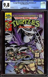 Teenage Mutant Ninja Turtles Adventures #1... CGC 9.8 NM/M...1989 regular series