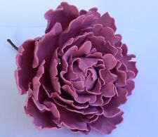 1 edible large PEONY flower cake decorationsTOPPER wedding BIRTHDAY christening
