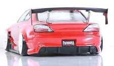 PANDORA 1/10 RC NISSAN SILVIA S15 / ORIGIN Labo 198mm Clear Body Drift D-Like