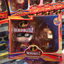 Genuine Hot Toys incredibles 2 Cosbaby toy figure jack jack fire effect bobble