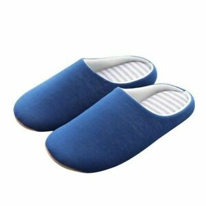 New Slippers Mens Women Winter Warm Slippers Home Indoor Anti-slip Couples Shoes
