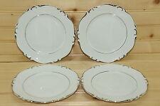 "Crown Jewel Elegance (4) Dessert or Bread & Butter Plates, 6 1/4"""