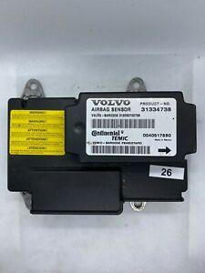 3#26 VOLVO V50 S40 C30 C70 Airbag Control UNIT ECU 31334738 00405178B0