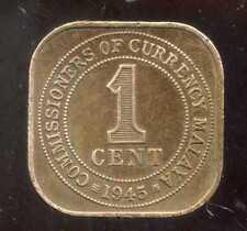 MALAISIE ( MALAYA  )  1 cent 1945