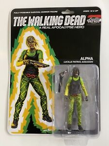 THE WALKING DEAD A REAL APOCALYPSE HERO - ALPHA Action Figure LUCILLE PATROL