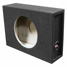 "Qpower BQSHALLOW10SINGLE Single 10"" Shallow Mount Subwoofer Box"