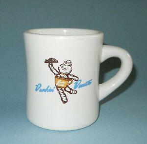 Vintage Dunkin Donuts Dunkie Man Restaurant Ware Coffee Mug