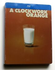 A Clockwork Orange Blu Ray Steelbook BRAND NEW Region Free Import Kubrick