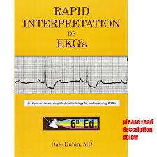Rapid Interpretation of EKG's 6th edition by Dale Dubin