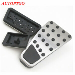 NO DRILL Gas & Brake Pedal Pads Kit For Dodge Ram 1500-5500 09-19 OEM#82212138
