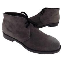 made cress italy grigio in stringhe 44 camoscio lacci scarpa brian uomo q6EawxxY4