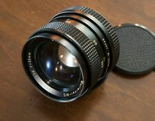 Rollei Rolleinar MC 55mm f1.4 lens in very good condition, QBM mount