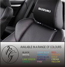 5 suzuki car seat head rest decal sticker vinyl graphic logo badge free post