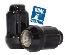 Wheel Lug Nut-Spline Lug Nut Car 6 Sided 1/2 Black