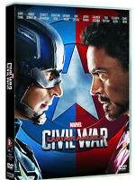 CAPTAIN AMERICA - CIVIL WAR (DVD) Robert Downey Jr, Scarlett Johansson