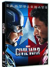 CAPTAIN AMERICA - CIVIL WAR (DVD) Robert Downey Jr, Scarlett Johansson