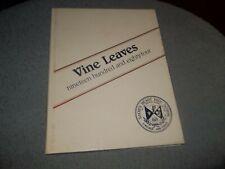 1984 SACRED HEART HIGH SCHOOL YEARBOOK VINELAND NJ VINE LEAVES