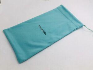 Tiffany & Co Blue Silk Eyeglass Sunglass Pouch