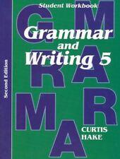 Saxon Grammar & Writing Grade 5 Student Workbook 5th 2nd 2014 Edition