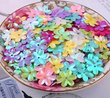 600pcs Mixed Flower shape Sequin decoration clothing crafts Sequin 15mm