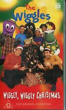 PAL VHS VIDEO TAPE : THE WIGGLES WIGGLY WIGGLY CHRISTMAS 1997