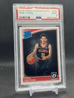 2018-19 Donruss Optic Trae Young Rated Rookie #198 PSA 9 MINT Hawks RC 🔥 INVEST