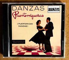 DANZAS PUERTORRIQUEÑAS BAJO LA DIRECCION DE RAFAEL HERNANDEZ - CD