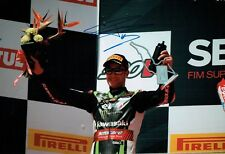 Jonathan REA SIGNED 12x8 Photo D Autograph World Superbike Champion AFTAL COA