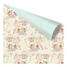 """Prima Heaven Sent 2 SWEET LITTLE THING 12x12"""" D/sided Foiled Scrapbooking Paper"""