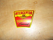 1958 FORD THUNDERBIRD INTERCEPTOR SPECIAL AIR CLEANER TOP LID DECAL STICKER NEW
