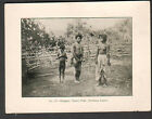 c 1900 photo photogravure Philippines Elongets: Native Tribe (Northern Luzon)