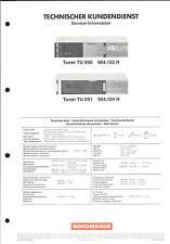 Nordmende Original Service Manual für TU 990-991