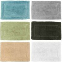 Allure Luxury Absorbent Quick Dry Thick Cotton Bamboo Bath Mat Bathroom Rug