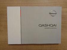 Nissan Qashqai Owners Handbook Manual 15-17