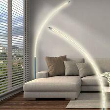 Lámpara de pie de interior más de 100cm de cromo