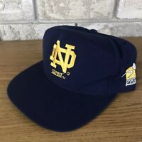 Vtg 90s Notre Dame Fighting Irish NBC Snapback Hat Sports Specialties Vintage OG
