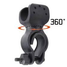 360°MTB Fahrrad Taschenlampe Halterung Licht Beleuchtung Ständer Halter --NEU--