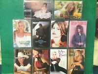 COUNTRY (10) Cassette Tape Lot McBride-McCready-Yearwood