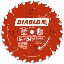 """Freud- Diablo 5-3/8"""" 24THT ATB Framing Cordless Trim Saw Blade w/10mm Arbor"""