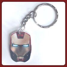 Iron Man Mask Theme Handmade Keyring Bag Charm For Gift Christmas #37